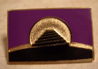 Conlang Flag Pin